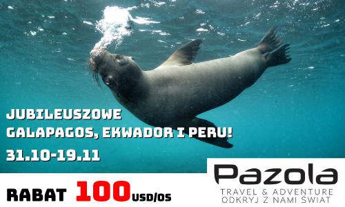 Magazyn Nurki.pl Nurkowanie Scuba Diving Podróże Sprzęt nurkowy Prenumerata Pazola travel and adventure Galapagos Rabat nuras Podwodny świat