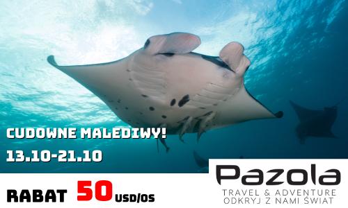 Magazyn Nurki.pl Nurkowanie Scuba Diving Podróże Sprzęt nurkowy Prenumerata Pazola travel and adventure Malediwy podwodny świat nuras maldives rabat