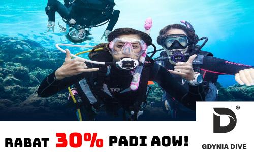 Magazyn Nurki.pl Nurkowanie Podwodny Swiat Scuba Diving Podróże Sprzęt nurkowy Prenumerata GdyniaDive Padi AOW Advanced Open Water nuras