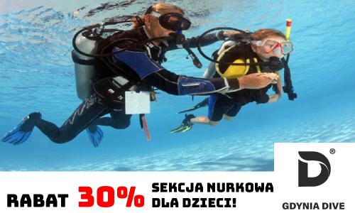 Magazyn Nurki.pl Nurkowanie Podwodny Swiat Scuba Diving Podróże Sprzęt nurkowy Prenumerata GdyniaDive Padi Sealteam Dzieci nurkują nuras