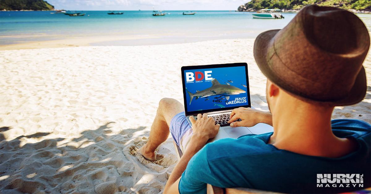 Magazyn Nurki.pl numer 2 Egipt Morze Czerwone Trasa BDE Daedalus Zealot Plaża Nurkowanie techniczne wrak