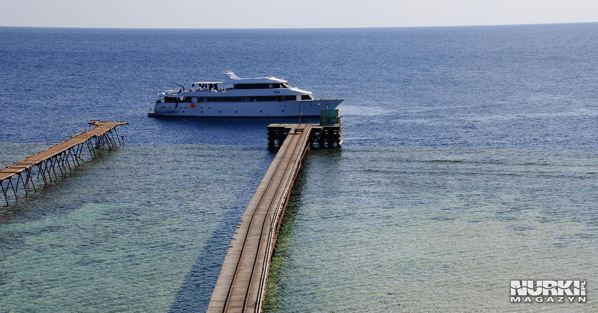 Magazyn Nurki.pl numer 2 Egipt Morze Czerwone Trasa BDE Daedalus Zealot Molo Nurkowanie techniczne wrak