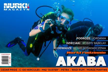 Magazyn Nurki Nurkowanie Podwodna Przygoda Akaba Jordania freediving dzieci nurkują
