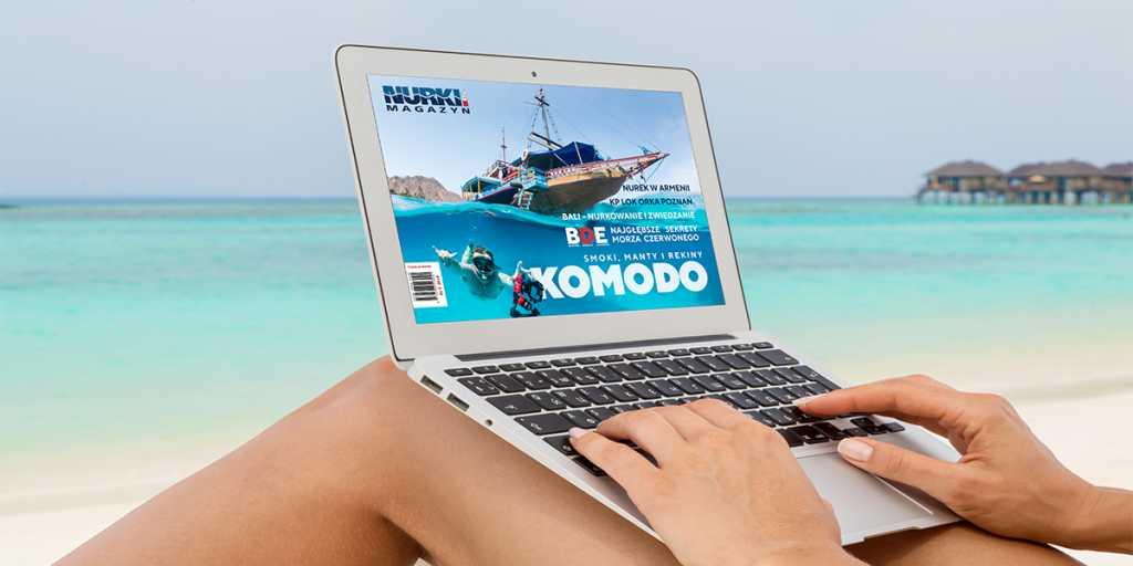 Magazyn Nurki.pl numer 2 Komodo Plaża Nurkowanie Ocean Morze